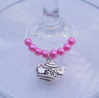 Tea Wine Glass Charms